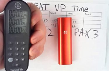 Pax 3 vs Pax 2: Heatup Time Testing