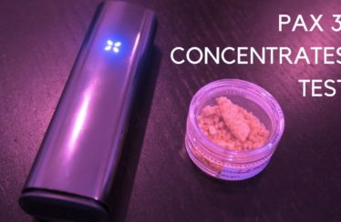 PAX 3 Test : Using The Concentrates Setting with Cannabis Extract