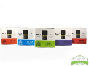 Pax Era pods and flavors